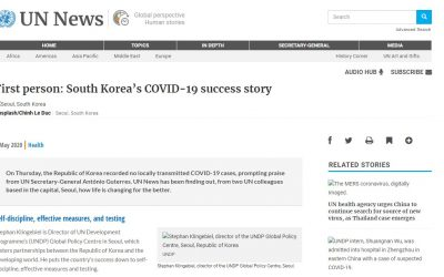 First person: South Korea's COVID-19 success story