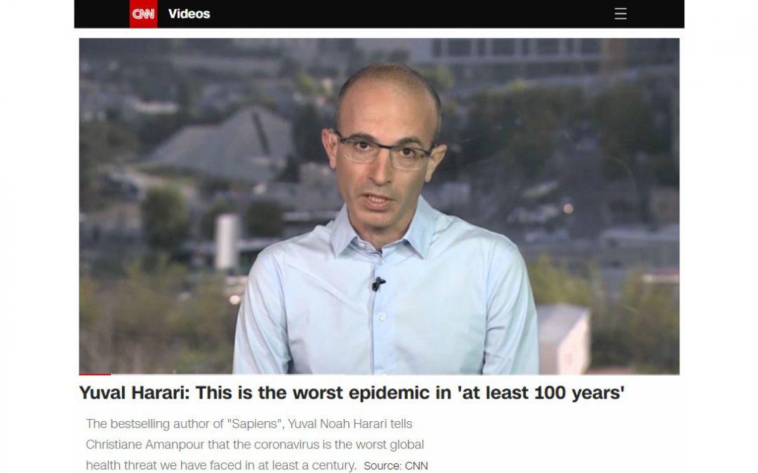 GIÁO SƯ YUVAL NOAH HARAI, ĐẠI HỌC THE HEBREW UNIVERSITY OF JERUSALEM TRẢ LỜI PHỎNG VẤN CỦA ĐÀI CNN